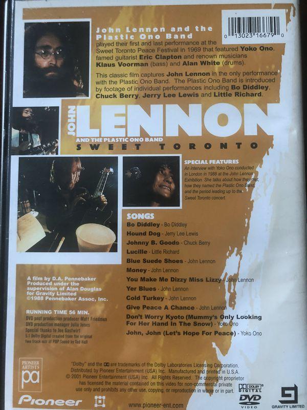 JOHN LENNON & THE PLASTIC ONO BAND