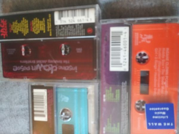 ICP Tapes in Excellent Condition only $20 for all the tapes