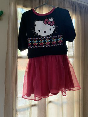 Little girl long sleeve hello kitty shirt. Size 4T for Sale in Laurel, MD