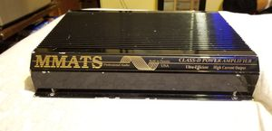 Mmats pro audio 1800 rms amp for Sale in Smithfield, NC