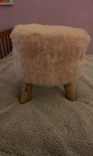 small pink three legged stool for Sale in San Francisco, CA