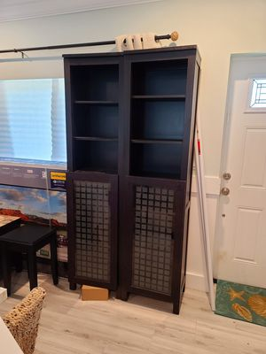 Book shelves or entertainment unit ends. $100 ea for Sale in Boynton Beach, FL