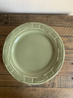 Longaberger Woven Traditions Plate Set for Sale in Visalia, CA