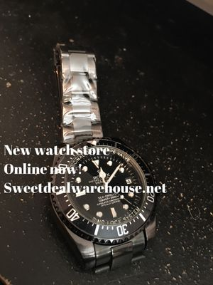 Visit the new watch shop today! for Sale in Riverside, CA