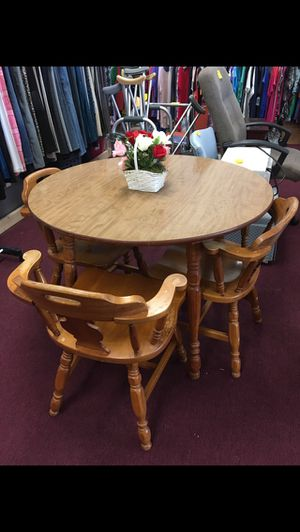 Table with 3 Chairs for Sale in Big Rapids, MI