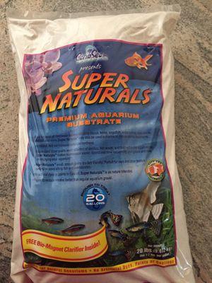 Super Natural Aquarium Substrate 20lbs for Sale in Phoenix, AZ
