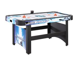 Hathaway Face-Off 5-Foot Air Hockey Game Table for Family Game Rooms with Electronic Scoring, Free Pucks & Strikers for Sale in Clifton, NJ
