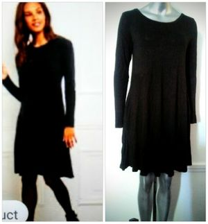 Black Boho - Sleeved Winter / Fall easy Care Wash & Wear dress size M for Sale in Whittier, CA