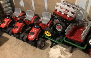 3 Peg Perego Tractor & Trailer Ride On Toy for Sale in Springfield, VA
