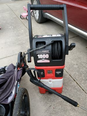 Stroller and electric pressure washer for Sale in New Braunfels, TX