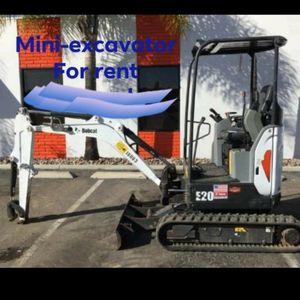 E20 excavator for Sale in Riverside, CA