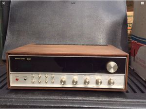 VINTAGE HARMAN KARDON 630 TIWN POWER AM FM RECEIVER TESTED BY A PRO for Sale in Kent, WA