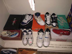 Jordan, bape , supreme, Nike, Nike Sb, Vans for Sale in Los Angeles, CA