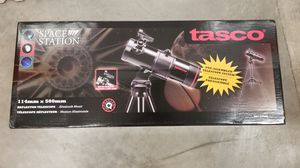 Tasco Telescope 114mm Spacestation Reflector ST for Sale in Chino, CA