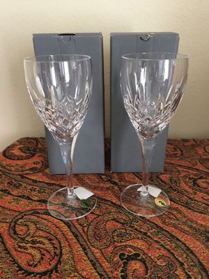 Waterford Crystal Lismore Nouveau Goblets - New!! for Sale in Austin, TX