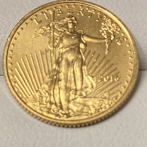 2016 - 1/10 OUNCE GOLD AMERICAN EAGLE for Sale in Brentwood, CA