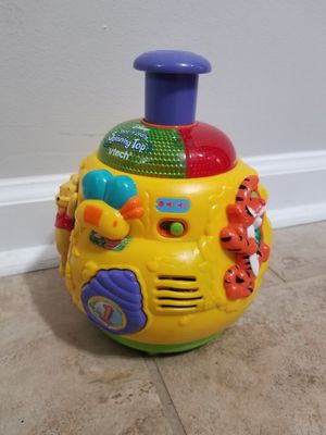 Vtech pooh spin top for Sale in Williamsburg, VA