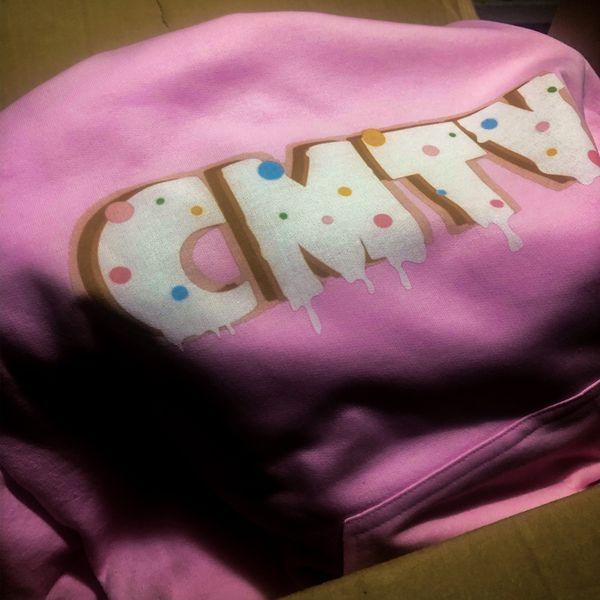 CMTV Hoodie pink