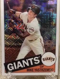 Mike Yastrzemski San Francisco Giants Topps 2020 35th Anniversary Super Refractor Insert for Sale in Federal Way,  WA