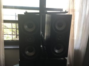3 POLK AUDIO speakers for sale . for Sale in New York, NY