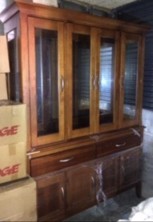 China cabinet & chairs for Sale in Hollywood, FL