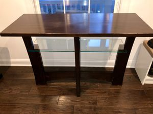 Console table from Ashley Furniture Homestore. Real wood. Gently used. for Sale in Haddon Heights, NJ
