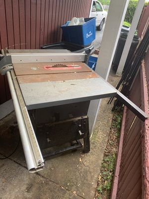 Porter cable table saw for Sale in Fairfax, VA
