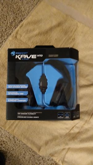 Roccat Have XTD Premium Gaming Headset for Sale in Germantown, MD