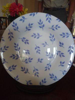 Set Of 11 Vintage French Arcopal Porcelain Salad Plates for Sale in Sarasota, FL