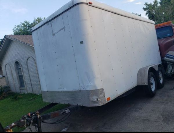 14 ft Enclosed Trailer