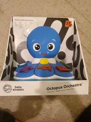 Baby Einstein Octopus Orchestra toy rt $36 for Sale in Riverside, CA