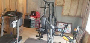 Exercise equipment,treadmill.weight machine,bike for Sale in College Park, GA