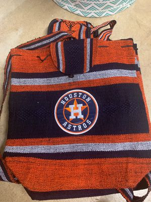Houston Astros backpack for Sale in Moreno Valley, CA
