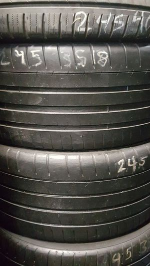 🙄🙂☺😎245-35R18 michelin pilot super sport [2] 70%%%%% for Sale in Lemon Grove, CA