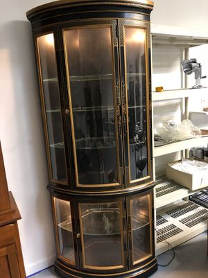 Antique china cabinet for Sale in Taunton, MA