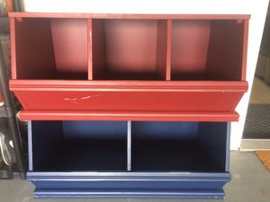 Kids Toy Stackable Storage Bins and Benches for Sale in Plano, TX