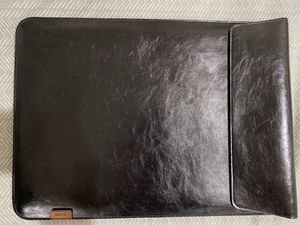Leather laptop case up to 15.6 inch for Sale in Cupertino, CA