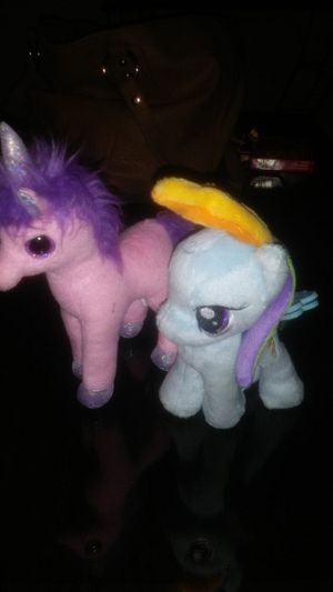 2 Pony Plushies. for Sale in Canby, OR