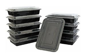 10-Pack Single Compartment Food Storage Containers for Sale in Oroville, CA