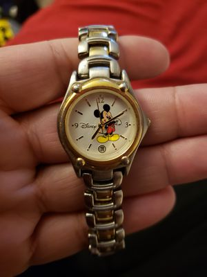 Mickey gold and silver watch for Sale in Ontario, CA
