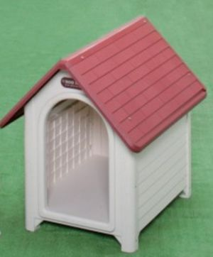 Brand New Large Plastic Dog House Red or Brown for Sale in Phoenix, AZ