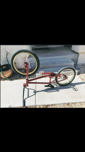 BMX bike fits frf grips and a gold sparkit now for Sale in Las Vegas, NV