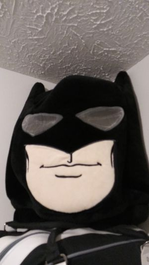 Plushi wearable Batman head. for Sale in Lutz, FL