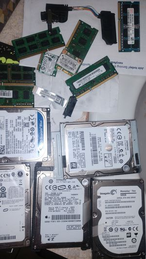 Refurbished hard drives and memory + other parts for Sale in Suffolk, VA