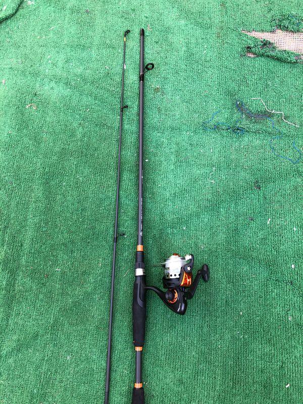 Fishing Rod & Reel ( 2 Pcs )
