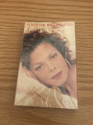 JANET JACKSON THATS THE WAY LOVE GOES CASSETTE TAPE SINGLE NEW SEALED 1993 for Sale in CAPE ELIZ, ME