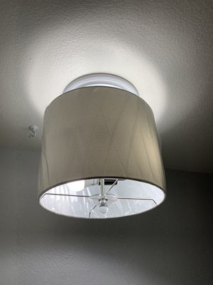 Light fixture with shade for Sale in Cypress, CA