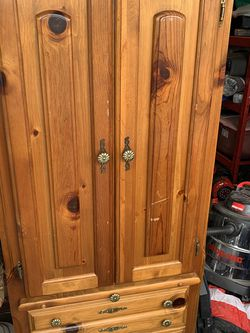 Solid Wood Armoire for Sale in Milwaukie,  OR