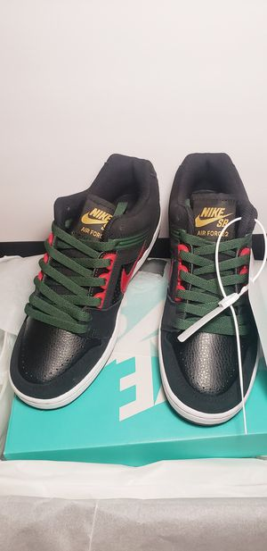 Nike SB Air Force 2 Low BLACK GUCCI Size 6 for Sale in Miami, FL