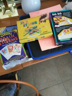 GAMES. BOARD GAMES...TOYS...FOR ALL AGES.. BACKGAMMON, POKER NEW, BRAIN PUZZLES, PROJECTS for Sale in San Diego, CA